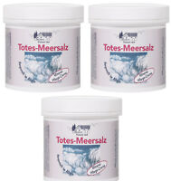 Totes Meer Salz Creme 3x 250ml Pflegecreme trockene Haut Akne Gesicht Körper