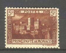 "MONACO STAMP TIMBRE N° 62 "" PALAIS PRINCIER 5F BRUN-ROUGE "" NEUF xx SUP"