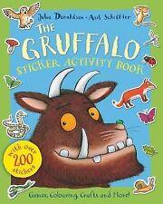 The Gruffalo Sticker Activity Book, Donaldson, Julia, New Book