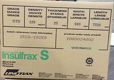 "COPERTA di fibra ceramica alternativa ""S"" Coperta corpo solubile 25x128kg/m3 (71325)"