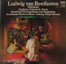 BEETHOVEN Volkslieder - ACCADEMIA MONTEVERDIANA - STEVENS - FOC - NM-