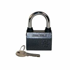 New Alarmed Heavy Duty Bike Security Padlock Lock with 100 db Siren Alarm System