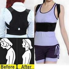 Back Posture Corrector Support Correction Lumbar Shoulder Brace Belt Therapy X1