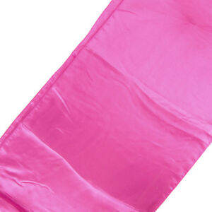 Satin Fabric Table Runner, 14-Inch x 108-Inch