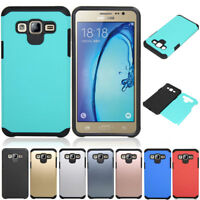 Slim Hybrid Shockproof Case Hard Armor Cover For Samsung Galaxy J7 Neo/NXT/Core