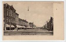 COMMERCIAL STREET, EMPORIA: Kansas USA postcard (C11955)