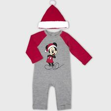 Baby Boys  2pc Mickey Mouse   Friends Mickey Mouse Romper and Hat Set 3  6c8a52a0f