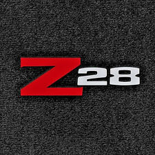 LLOYD Classic Loop™ 4pc FLOOR MAT SET - logos on front mats 1973-1974 Camaro Z28