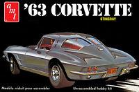 AMT 861 1963 CHEVROLET CORVETTE 1/25 SCALE MODEL KIT