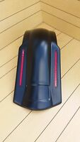 Harley Davidson Extended No Cut Out Led Rear Fender For Touring Bikes 96-2013