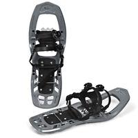 22inch Lightweight All Terrain Snowshoes for Men Women w/ Bag Anti Slip Grey