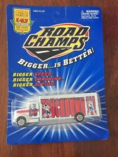 Road Champs Football Cargo Transporter Truck Touchdown Football 1/43 Rare New