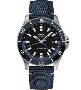 MIDO Ocean Star Automatik GMT   Caliber 80   20 BAR wasserdicht   M0266291705100