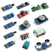 16PCS Module Board For Raspberry Pi Zero W Sensor Kit Photoresisto Ultrasonic