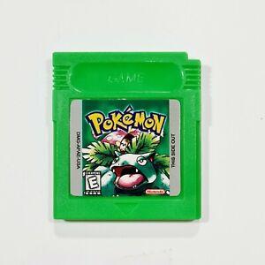 Nintendo Game Boy Modul POKEMON GREEN VERSION engl. Repro/Rollenspiel/Grüne Ed.