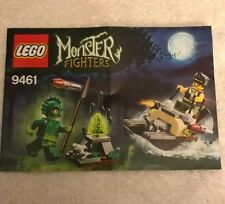 LEGO Monster Fighters Instruction BOOK ONLY For Set 9461