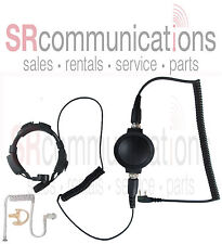 Throat Mic Earpiece Earmold Kenwood ProTalk TK2100 NX220 NX320 TK3100 TK2170