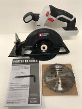 Porter cable power saws blades ebay new porter cable pcc661 20v max lithium ion 5 12 circular saw greentooth Choice Image