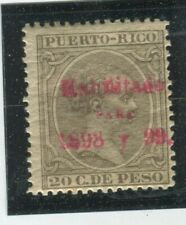 Puerto Rico Stamps #168 MINT,H,Fine (X348N)