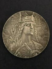 Gallia Medaille Medal Awarded by General Picquart France Affaire Dreyfus Affair