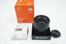Sony Fe 50mm F1.8 ※ E-Mount Obiettivo (Full-Size Corrispondente) SEL50F18F F/S