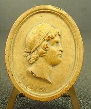 Medaille médaillon XVIIIe Trasieulus (?) Philosophe grec Greek Philosopher medal