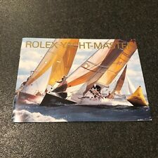 Rolex Booklet Libretto Yacht Master 16622 16623 16628 2004 English