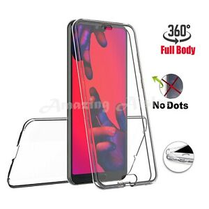 360 Full Protection Gel Silicone TPU Case Cover For Huawei P20 P30 P40 Pro Lite