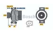 BOSCH Alternador Para BMW Serie 3 5 FIAT PANDA MERCEDES S 0 986 046 130