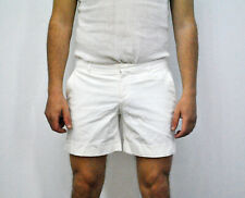 White Burberry Shorts