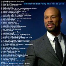 Blu-Ray Promo, Hi-Def Party Mix Vol.16 Mar. 2015, Top 40+ Dance & Club Hits ONLY