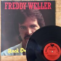 Freddy Weller Back On The Street (Bulldog BDL 3003) Signed / Autographed Vinyl