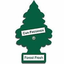 Magic Tree Car Air Freshener Duo Gift 2 Pack Forest Fresh And Leather