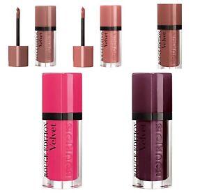 Bourjois Rouge Edition Velvet Matte Finish Lipstick Choose Your Shade New Sealed