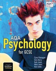 AQA Psychology for GCSE: Student Book by Cara Flanagan 9781911208044 | Brand New
