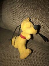 Pluto Character Christmas Ornament—Walt Disney Productions—Made in Hong Kong