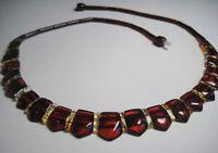 Natur Bernstein Kette, Baltischer Bernsteinkette , Baltic Amber Necklace