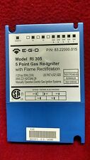 E.G.O.  Tyronics 5 point gas Re-igniter model RI 305 with flame rectification