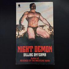 Dillibe Onyeama - Night Demon - Sphere Books - 1982 Vintage Horror Paperbacks