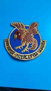 USAF Air Force, 3.5 inch patch, original, 29th Fighter Interceptor Squadron