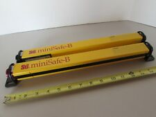 Lot Pair STI MiniSafe-B Transmitter & Receiver Model MS4312B Light Curtain USA
