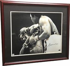 Muhammad Ali Signed 16x20 Framed Photo Vs. Spinks LE /50 Steiner COA Auto