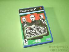 WORLD SNOOKER CHAMPIONSHIP 2005 Sony Playstation 2 PS2 Game-Sega