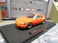 PORSCHE 911 Carrera RS 2.7 F-Modell Entenbürzel orange 1973 Ebbro 1:43
