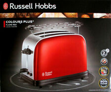 Russell Hobbs 23330-56 Colours Plus+ Flame Red Toaster Rot 2 Scheiben 1670 Watt