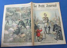 Le petit journal 1898 416 caricature empereur d'allemagne