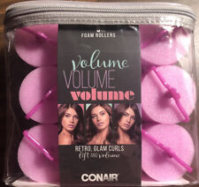 CONAIR Volume Foam Curlers 9 Count- Volume & Lift-New!