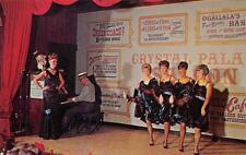 Crystal Palace Revue Can-Can Girls Front Street Ogallala, Nebraska Postcard