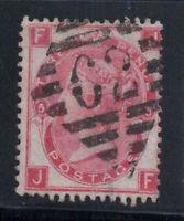 Großbritannien 1867 Mi. 28 Gestempelt 60% 3 Pence, Königin Victoria, J, F.