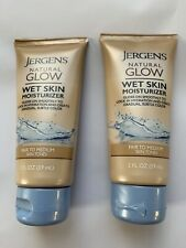 Jergens Natural Glow Wet Skin Moisturizer Fair To Medium 2 Fl Oz Travel Size NEW